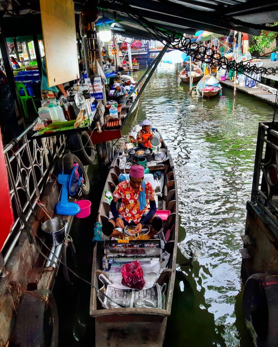 best floating markets in Bangkok