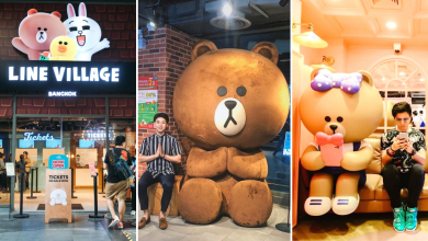 Photo of The World's Very First LINE Theme Park Is Now Open In Bangkok