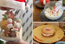 Photo of This Cafe Creates Extraordinary Christmas Desserts Including Santa In Snow Globes (Bangkok)