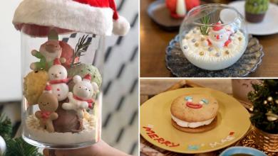 Photo of This Cafe Creates Extraordinary Christmas Desserts Including Santa In Snow Globes (Bangkok)