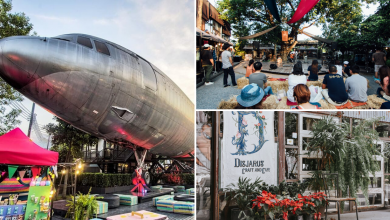 Photo of This Creative Retro Park In Bangkok Features A Real Plane & Instagram-Worthy Cafes