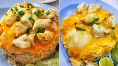 Photo of This Spot In Bangkok Serves Mouthwatering Crab Meat & Omelette Fried Rice