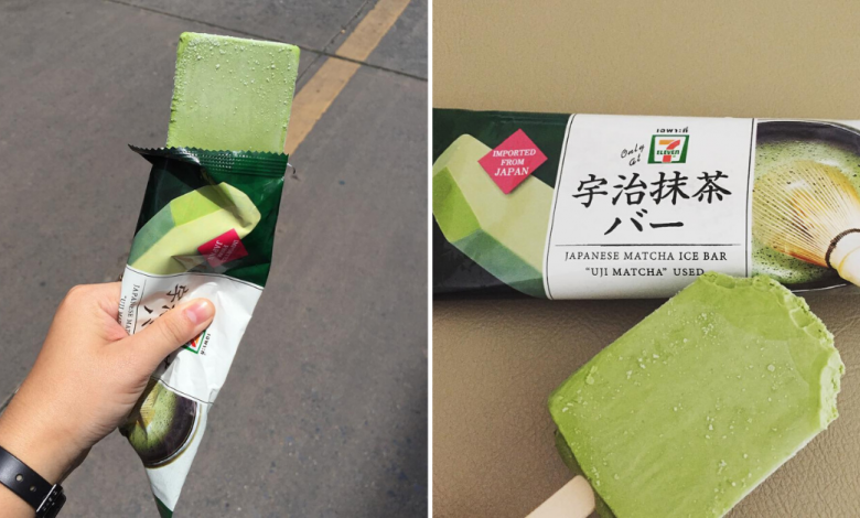 Photo of Matcha Ice Bar Imported From Japan Is Now On Discount At 26 Baht In 7-Eleven Thailand