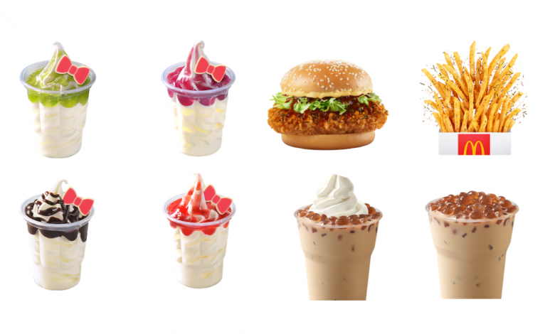 Photo of McDonald's Thailand Has Hello Kitty Inspired Sundae & Other New Items