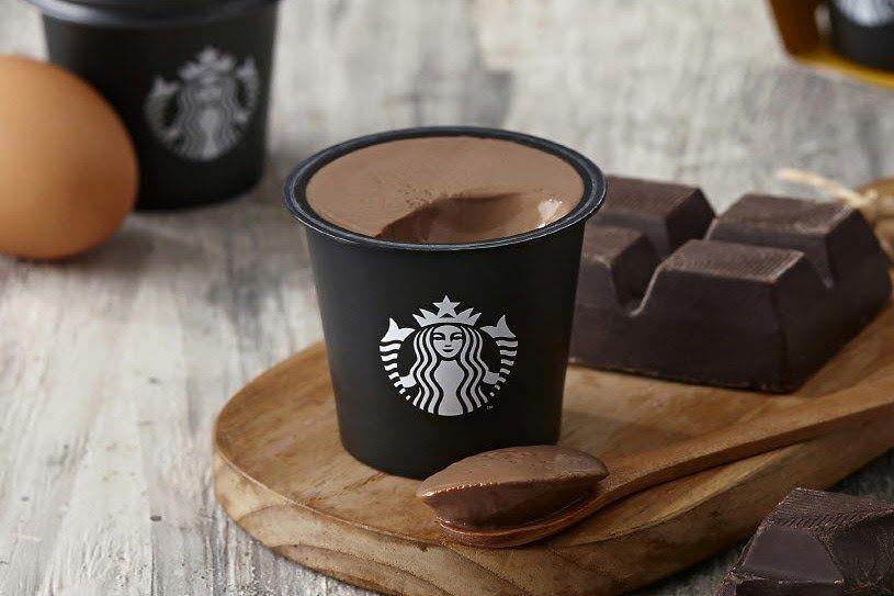 Starbucks Thailand chocolate pudding