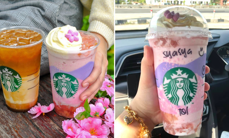 Photo of Starbucks Thailand Introduces New Pink Peach Creme Frappuccino And It Looks Dreamy