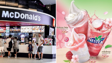 Photo of McDonald's Thailand Rolls Out New Japanese-Inspired Lychee Sakura Desserts