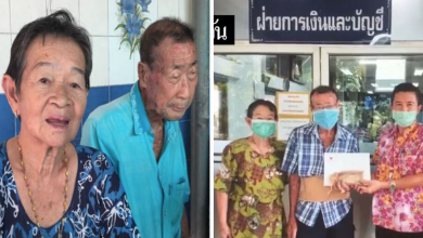 Photo of Elderly Hawker Couple Shows Appreciation By Donating Over ฿1 Million To Hospitals In Need