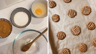 Photo of Here's How To Make Delicious Peanut Butter Cookies Using Only 3 Ingredients