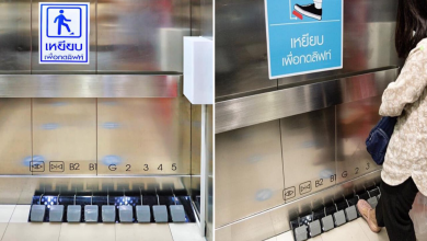Photo of This Mall In Thailand Implements Foot-Operated Elevators To Reduce The Risk Of COVID-19 Among Shoppers