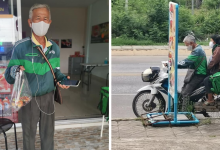 Photo of Elderly Couple Becomes GrabFood Riders To Avoid Being A Burden To Their Family