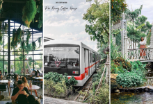 Photo of This Garden-Themed Cafe Has A Beautiful Glasshouse, Bean Bag Room And A Train