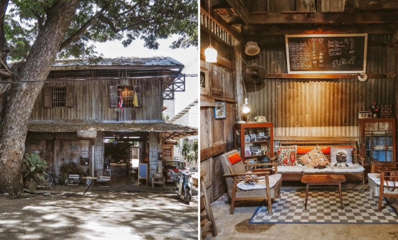 Photo of This Rustic Cafe In Thailand Set In An Old Shophouse Will Take You Back In Time