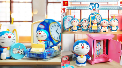 Photo of McDonald's Rolled Out Cute Doraemon Toys To Celebrate Doraemon 50th Anniversary