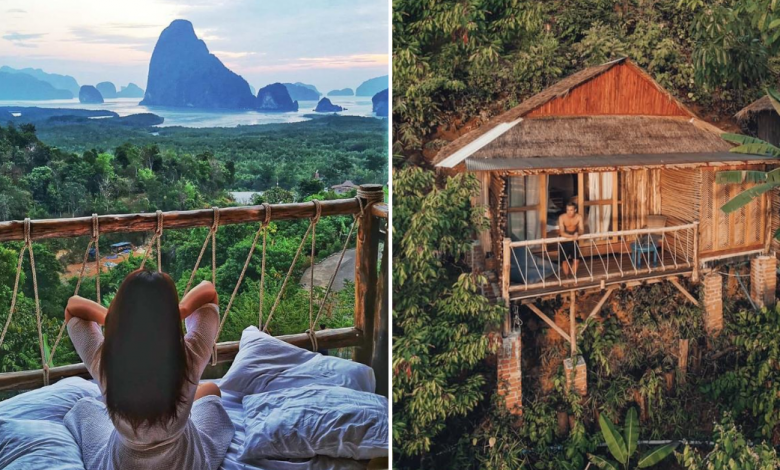 Photo of This Treehouse Resort In Phuket Overlooks A Panoramic View Of Phang Nga Bay