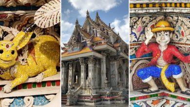 Photo of Find Sculptures like Pikachu, Captain America and More at Wat Pariwat, Bangkok!