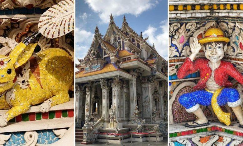 Photo of Find Sculptures like Pikachu, Captain America and More at Wat Pariwat, Bangkok!