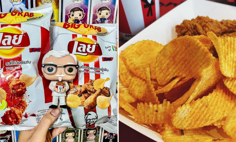Photo of We Found Lay's New KFC Flavored Potato Chips Only at 7-11 Thailand