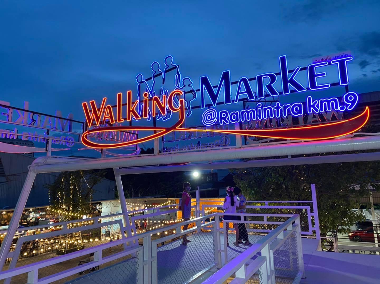 Walking Market Ramintra Bangkok