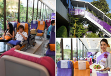 Photo of Thai Airways Transforms Its Bangkok HQ Cafeteria Into An Airline-Themed Restaurant
