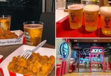 Photo of We Found KFC at The PARQ in Bangkok Serves Fried Chicken with Beer Till Midnight!
