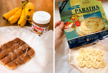 Photo of Thai Banana Nutella Pancake: Here's How To Make The Famous Thai Street Food With Frozen Roti