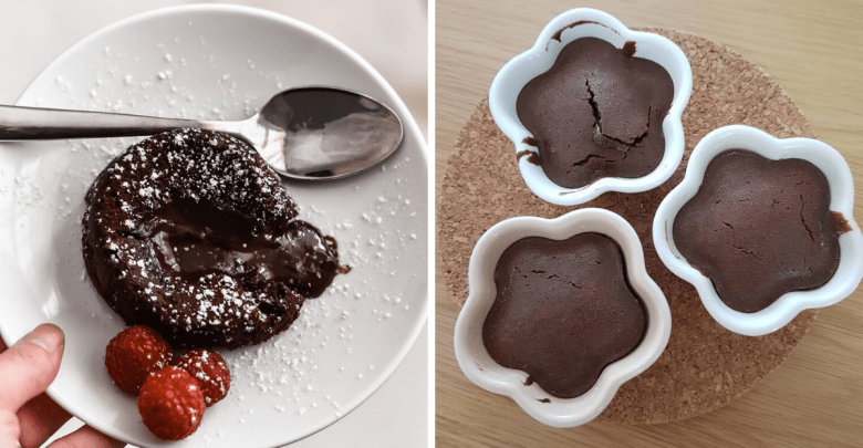 Photo of This Viral Chocolate Molten Lava Cake Recipe Using An Air Fryer Is Easy & The Results Are Delicious