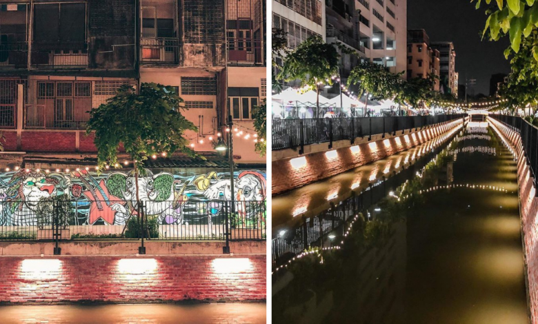 Photo of Klong Ong Ang Near Khao San Road Is Bangkok's Latest Attraction & It's Perfect For A Night Stroll