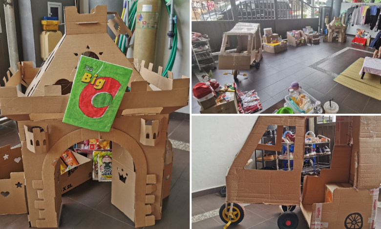 Photo of Malaysian Mother Turned Her Front Porch Into Mini Bangkok With Tuk Tuk, Big C & More