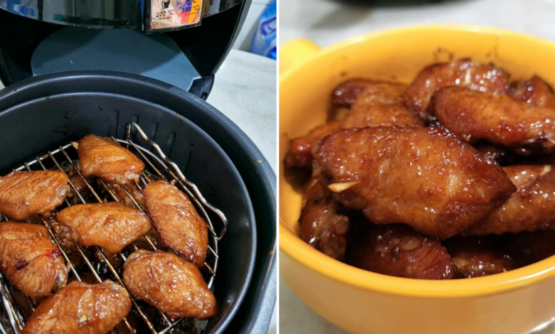 Photo of Here's How You Can Easily Make Honey Chicken Wings Using An Air Fryer