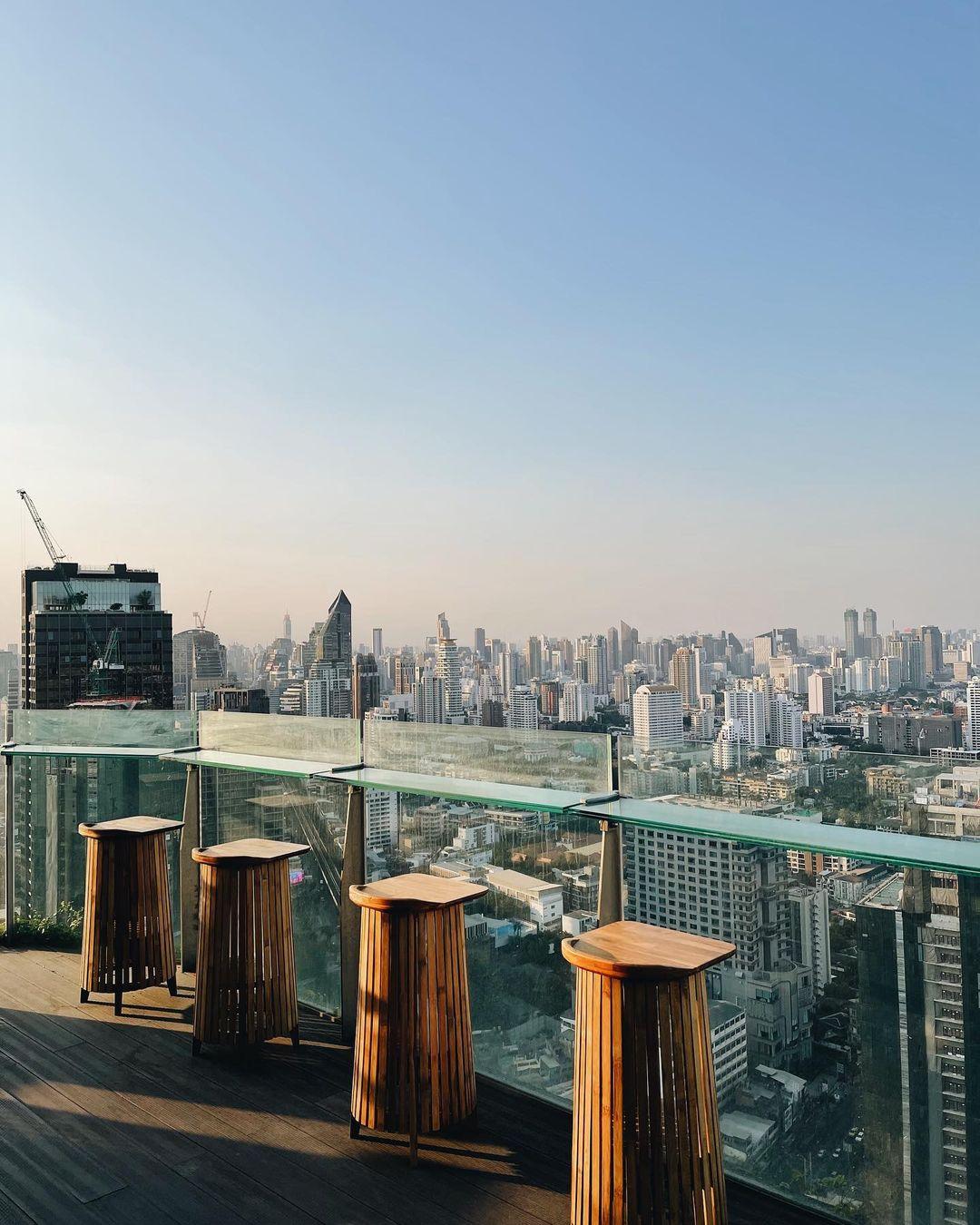 Tichuca Rooftop Bar Bangkok