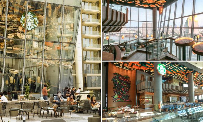 Photo of Starbucks ReserveChao Phraya Riverfront Bangkok Is The Largest Starbucks In Thailand