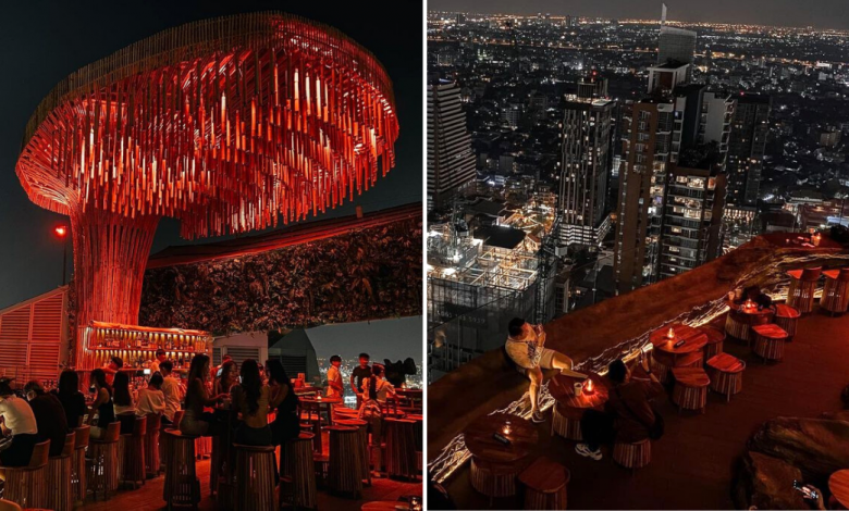 Photo of Tichuca Rooftop Bar: New 3-Storey Rooftop Bar In Bangkok With A Jungle-Themed Decor