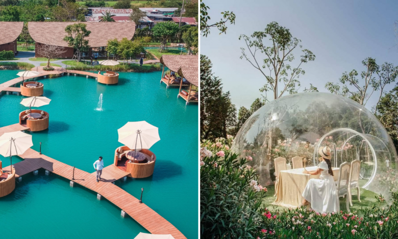 Photo of Bubble In The Forest Thailand: A Floating Cafe Perched Above Pristine Waters