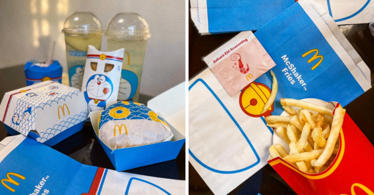 Photo of McDonald's X Doraemon Limited Summer Set Menu Looks So Adorable